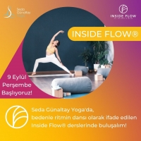 Weekly Inside Flow Class with Seda Günaltay