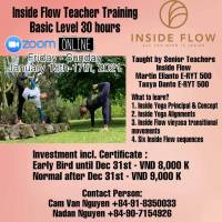 Basic Level Teacher Training 3 Days with Martasya Yoga Online for Vietnamese