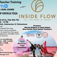 BASIC LEVEL TEACHER TRAINING INSIDE FLOW 3 WEEKENDS ONLINE WITH MARTASYA YOGA