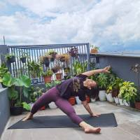 Weekly Online Inside Flow Class with Martasya Yoga on ZOOM (English/Indonesian)  - 2021-01-22
